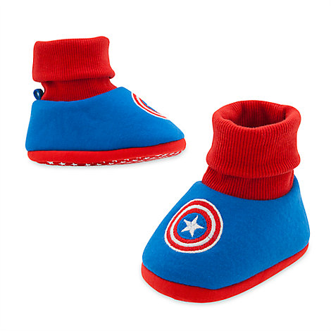 Captain America Costume Shoes for Baby