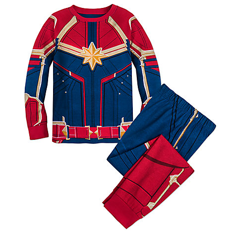 Marvel's Captain Marvel Costume PJ PALS for Girls