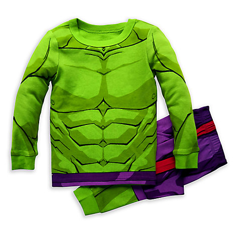 Hulk Costume PJ PALS for Boys