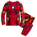 Iron Man Costume PJ PALS Set for Boys