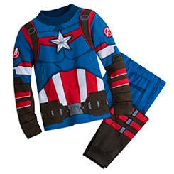 Captain America Costume PJ PALS for Boys