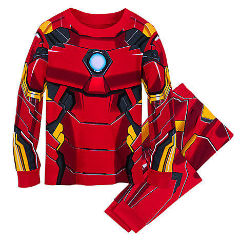 Iron Man Costume PJ PALS for Kids
