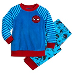 Spider-Man Fuzzy Pajama Set for Kids