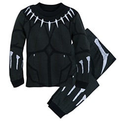 Black Panther Costume PJ Pals Set for Boys