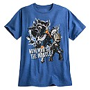 Rocket and Groot Tee for Men - Guardians of the Galaxy Vol. 2