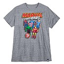 Marvel Super Heroes T-Shirt for Men - Extended Size