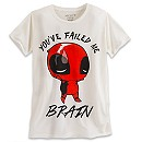 Deadpool Tee for Women by Mighty Fine