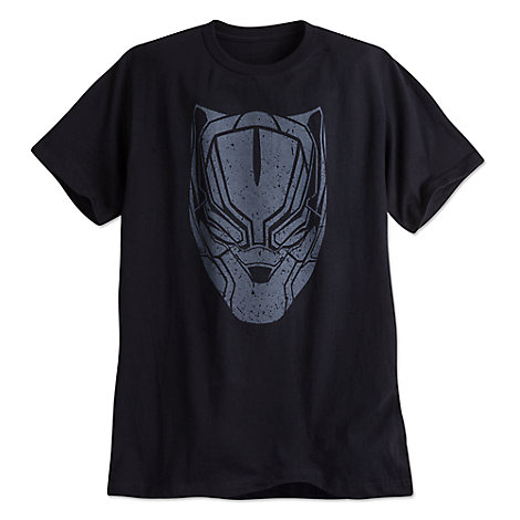 Black Panther Tee for Men by Mighty Fine - Captain America: Civil War