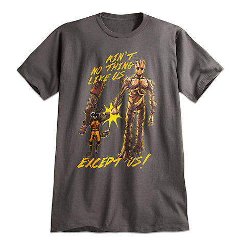 Rocket and Groot Tee for Men by Mighty Fine