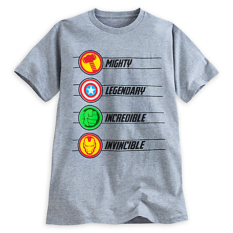 Marvel Icons Tee for Men