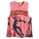 Black Widow Tank Tee for Women