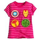Avengers Icons Tee for Girls