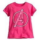 Avengers Logo Tee for Girls