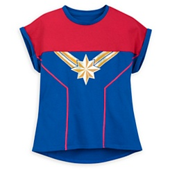 Captain Marvel Shirt for Girls