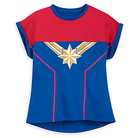 Marvel's Captain Marvel Shirt for Girls