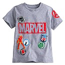 Marvel's The Avengers Icon Patches Tee for Boys