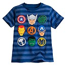Avengers Striped Tee for Boys
