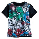 Avengers Comic Book Tee for Boys