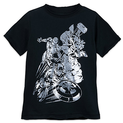 Marvel Silver Foil T-Shirt for Kids