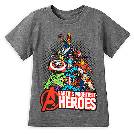 Marvel Avengers T-Shirt for Boys