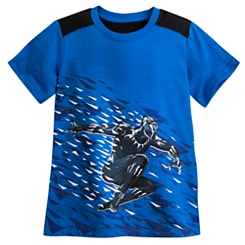 Black Panther Colorblock T-Shirt for Boys