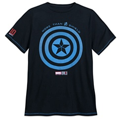 Captain America T-Shirt for Men - Marvel Studios 10th Anniversary