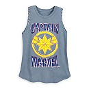 Captain Marvel Tank Top for Women