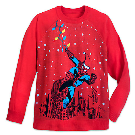 Spider-Man Light-Up Holiday Sweater for Adults