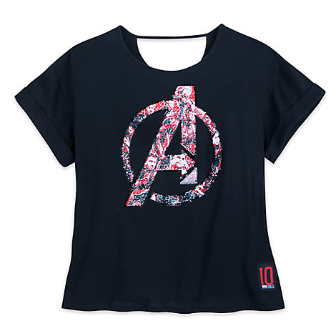 Marvel's Avengers: Endgame Reversible Sequin T-Shirt for Women