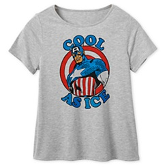 Captain America ''Cool as Ice'' T-Shirt for Women