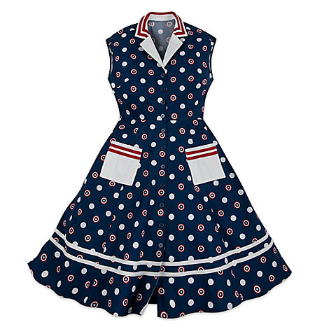 Captain America Dress for Women by Her Universe