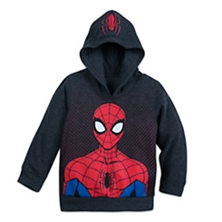 Spider-Man Hooded Fleece Top for Boys