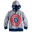 Captain America Icon Hoodie for Boys