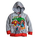 Avengers Zip Hoodie for Boys