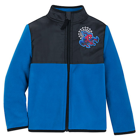 Spider-Man Pieced Fleece Jacket for Kids – Personalized
