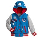 Marvel Captain America Fleece Jacket