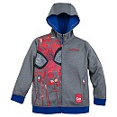 Spider-Man Zip Hoodie for Boys - Personalizable