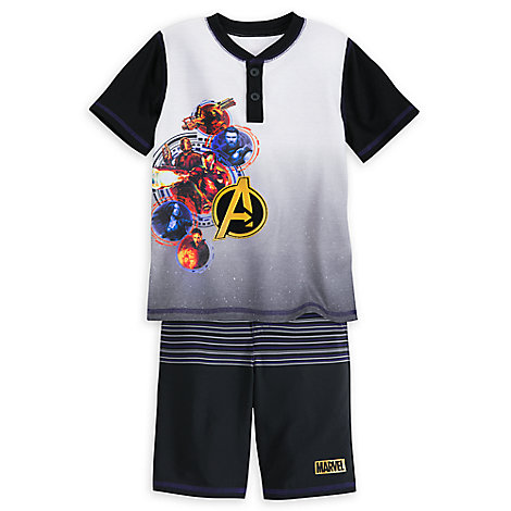 Marvel's Avengers: Infinity War T-Shirt and Shorts Set for Boys