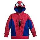 Spider-Man Costume Fleece Hoodie for Boys