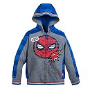 Spider-Man Hooded Fleece Jacket for Boys