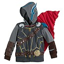 Thor Costume Hoodie for Boys - Marvel Thor: Ragnarok