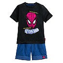 Spider-Man Shorts Set for Boys