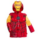 Iron Man Rain Jacket for Boys