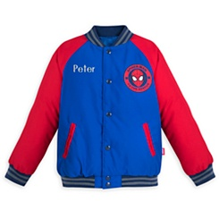 Spider-Man Varsity Jacket for Boys - Personalizable