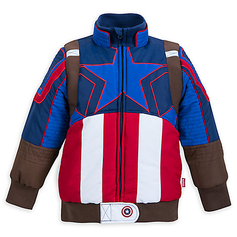 Captain America Puffy Jacket for Kids