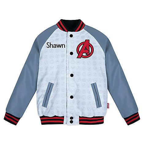 Marvel's Avengers Varsity Jacket for Boys - Personalized