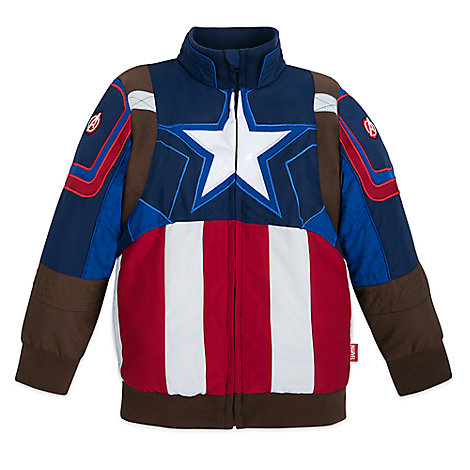 Captain America Jacket for Boys