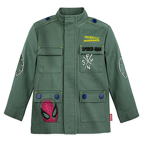 Spider-Man Field Jacket for Boys