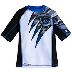 Black Panther Rash Guard for Boys - Our Universe