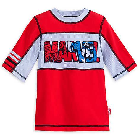 Avengers Rash Guard for Boys